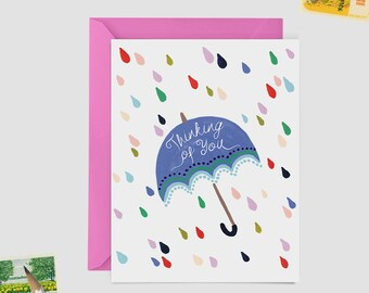 Thinking of You Card - Sympathy Greeting Card