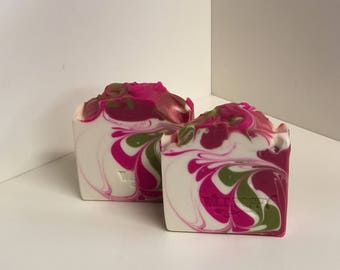 Flirt Soap / Artisan Soap / Handmade Soap / Soap / Cold Process Soap