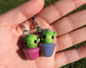 Uv Color changing Cactus Charms