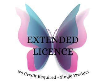 Extended Licence - Commercial Use - CraftArtDesign