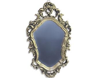 Vintage Ornate Gilt Mirror