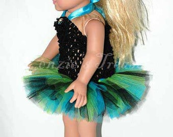 Party Pack Of 5 Create Your Own Doll Tutus Fits American
