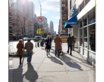 Walking in Manhatten Upper East Side Sunday Stroll New York City