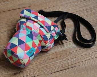 DSLR camera bag Custom name digital camera backpack carry On Bag Colorful DSLR camera case SLR camera bag