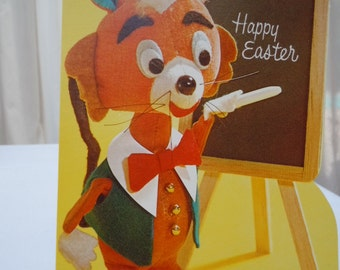 "Vintage  60's EASTER Cards Lot of -12 Cards  ""To a Nice Teacher ""  New Old Stock - Retro Cards- 4"" x 6"""