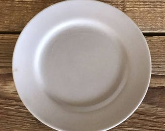 Vintage Franciscan China El Patio Matte Gray Set of 4 Bread and Butter Plates