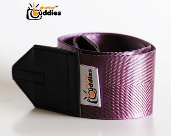 Seat Belt Camera Strap, Nikon Camera Strap, Purple Camera Strap, Simple Camera Strap   Purple
