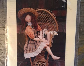"Hannily Patterns 18"" Country Doll Mimi Pattern"