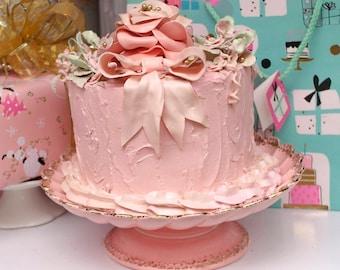 """faux cake """"Karen"""""""