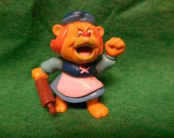 1985 Disney Gummi Bears Grammi Granni pvc Figure Applause 80s vintage