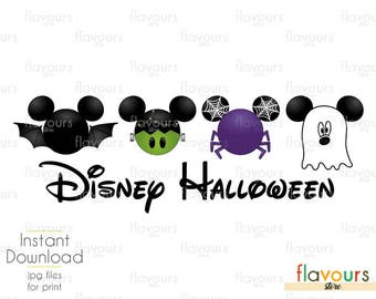 Mickey Disney Halloween Trip - INSTANT DOWNLOAD - Family Vacation Iron On Transfer - DIY Disney Shirts
