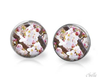 Earrings cherry blossoms 57