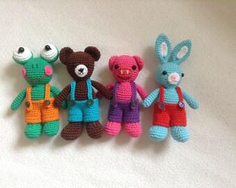 amigurumi sweet friends crochet pattern