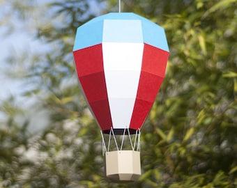 Balloon Mobilé - DIY Papercraft Kit