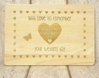 Custom board wedding gift, Custom Cutting board, Personalised Wedding Chopping board, Custom made Wedding gift, Personalised cutting board
