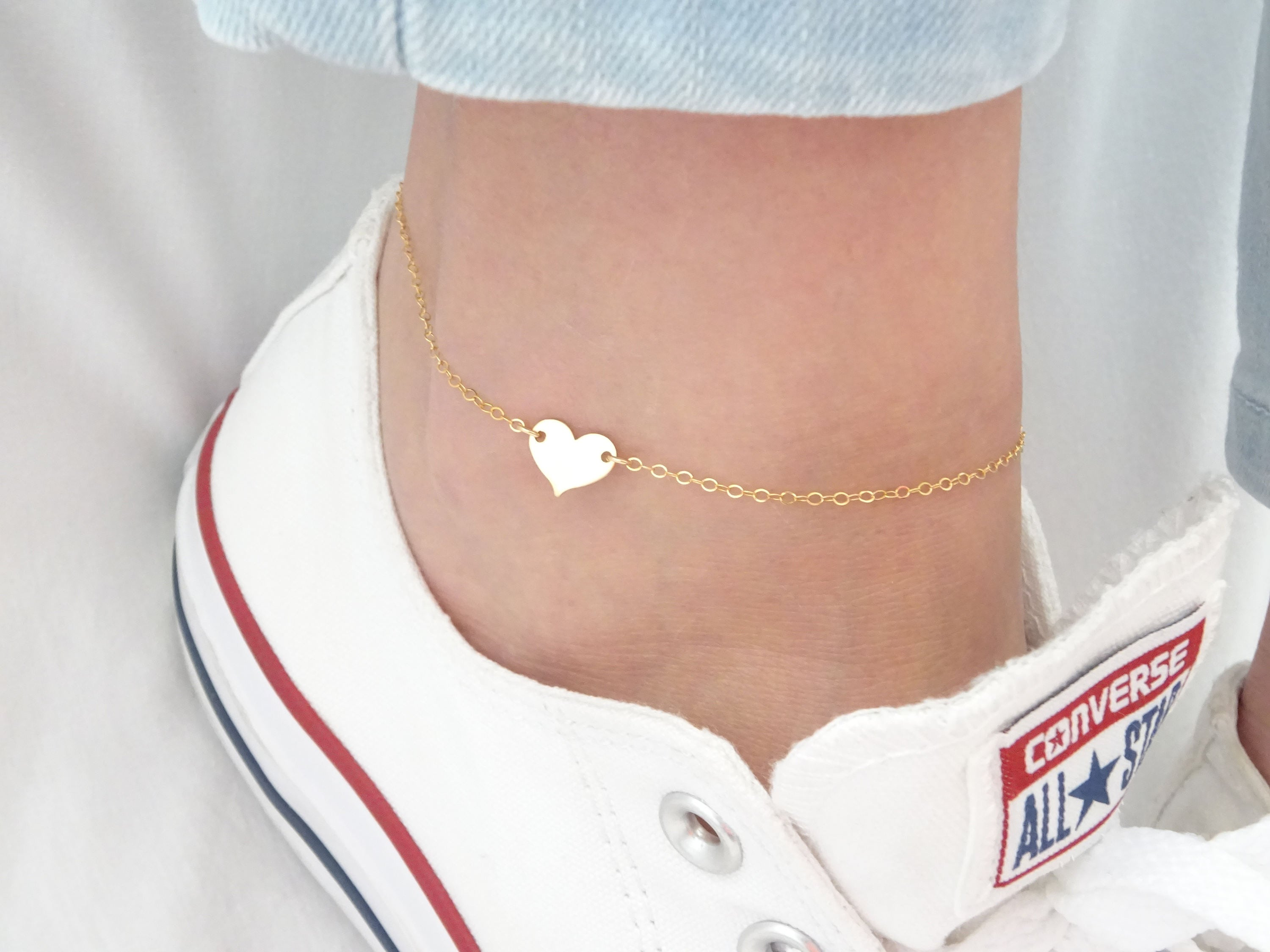 iron pendant rose lucky gold bracelet jewels fish products solid anklet hestia