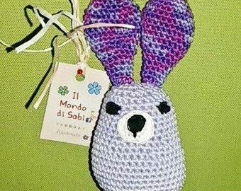 Crocheted Bunny Amigurumi, Easter