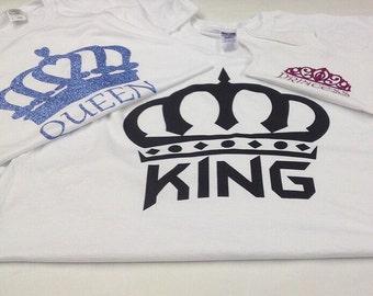 King, Queen, Princess shirt