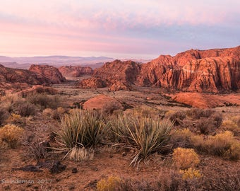 Utah Sunrise at Snow Canyon