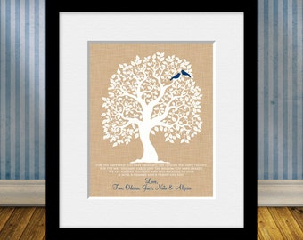 Gift for Grandmother, Gift for Mom, Personalized Thank You Print for Mom or Grandma, Customized Print for Grandmothers, Thank You Print