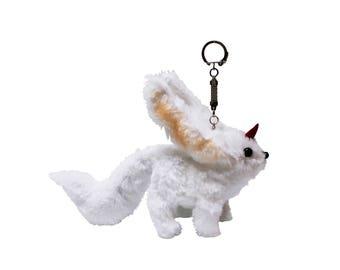 Final Fantasy XV (15) Carbuncle Ruby Plush Keychain