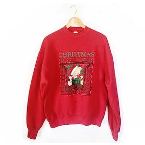 Christmas Sweatshirt tacky Christmas  Ugly Christmas Sweater large xl  Tacky Christmas Sweater