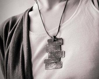 PICK Pendant wrought Iron necklace
