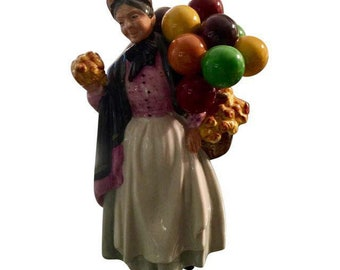"Royal Doulton ""Biddy Pennyfarthing"" Figurine 1843"