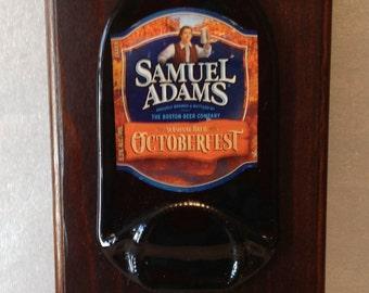 Sam Adams Octoberfest Beer Opener Plaque