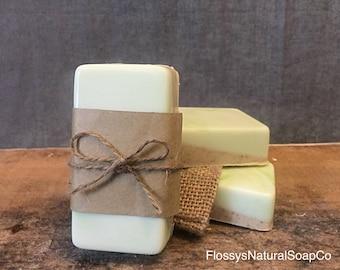 Ginger & Lime Goats Milk Soap