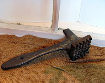 Primitive Metal Meat Tenderizer