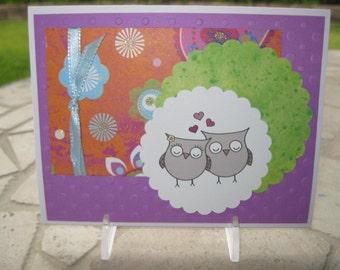 Sweet Owl Love Card