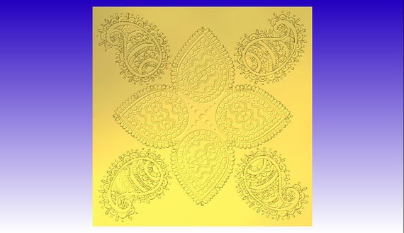 Hindu Wall Art Vector Relief Model in stl file format for download ...