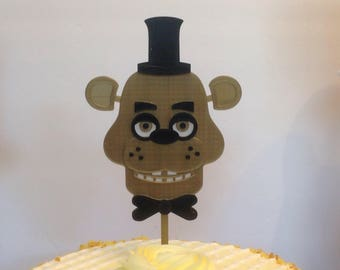 Five Nights at Freddy's Cake Topper