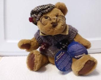 Brass Button Bear Sherwood Pickford Collection - Radar the Bear of Long Life