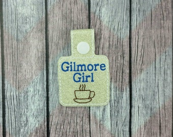 Gilmore Snap Tabs for Sports Bags and Luggage, Key Chains, Zipper Pulls, Gilmore inspired