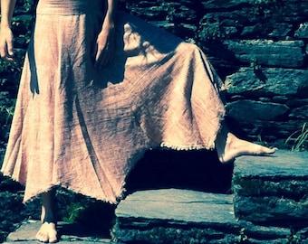 Forest flower Skirt - Khadi Cotton