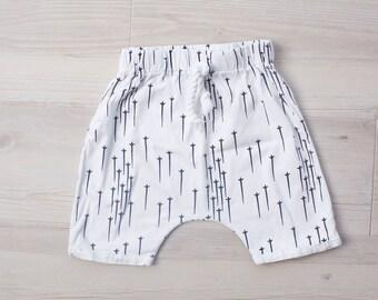 Shooting Stars Harem Pants, Boy clothes, Baby boy clothes, Boy pants, Baby boy pants, Baby harem pants, boy harem pants, baby shower, gift