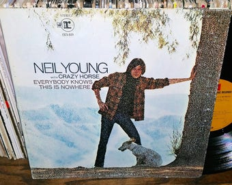 Neil Young Everybody Knows This Is Nowhere Vintage Vinyl Record