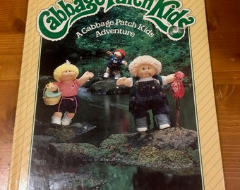 Cabbage Patch Adventure Book