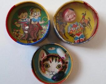 Three Japanese Hand Puzzles