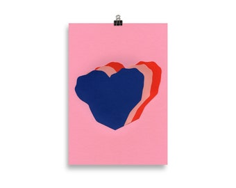 Art Print – Hearts For Valentine