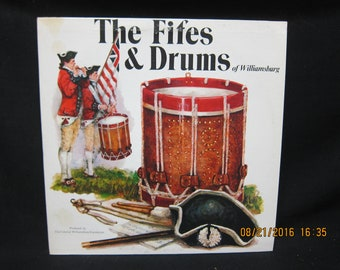 Fifes & Drums of Williamsburg - Colonial Williamsburg Foundation  1975