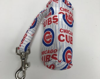 The Batter Up: Golf Ball Bag (Chicago Cubs Print)