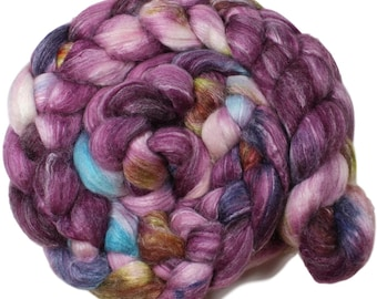 Wicked Brew - hand-dyed Merino wool / bamboo / silk (4 oz.) combed top roving