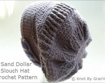 Crochet Pattern, Hat Pattern, Slouch Hat Pattern, Crochet Hat