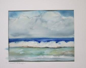 foam~original watercolor