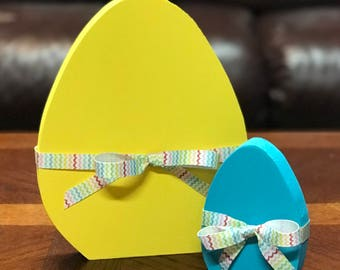 Easter egg wood set