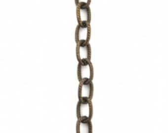 Vintaj Brass Petite Etched Cable Chain
