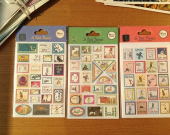 The Little Prince stamp sticker ver.4 40 pieces by 7321 design™